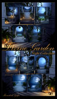 Divine Garden - Night Collection backgrounds