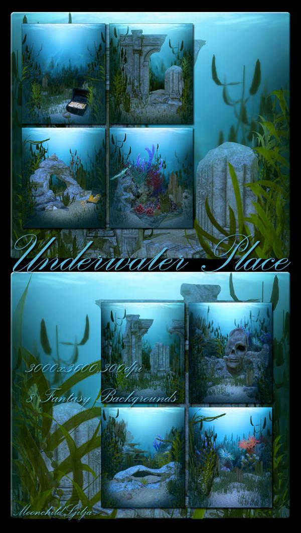 Underwater Place backgrounds by moonchild-ljilja