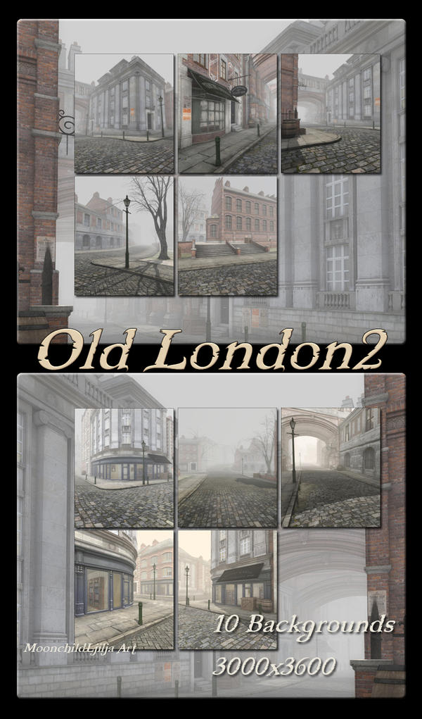 Old London 2 backgrounds by moonchild-ljilja