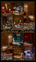 Fantasy Rooms backgrounds
