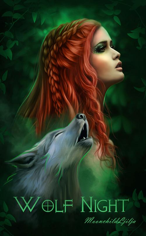 Wolf Night by moonchild-ljilja