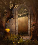 Halloween background 2