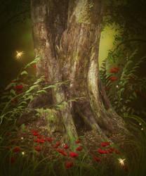 Fairytale Wood free background by moonchild-ljilja