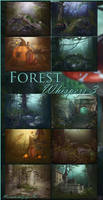 Forest Whispers 3 backgrounds