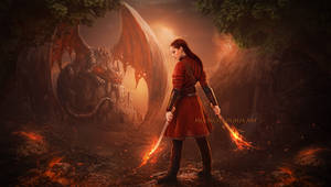 Dragon Land by moonchild-ljilja