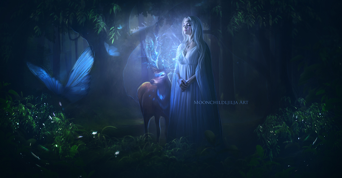 Forest Spirit by moonchild-ljilja