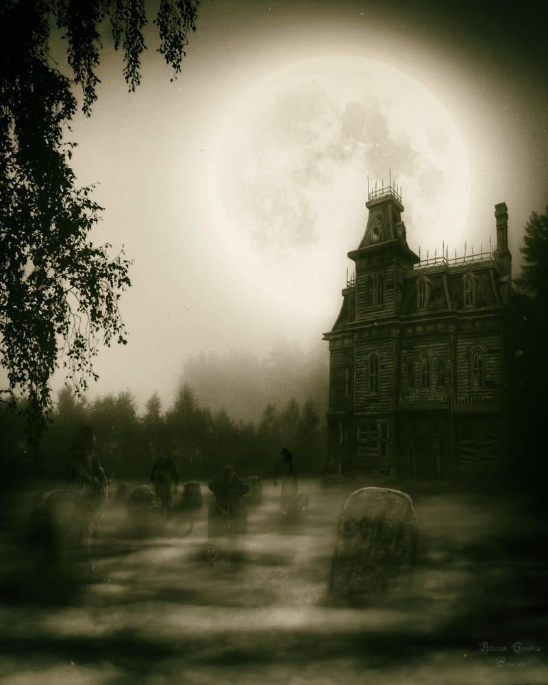 Halloween Special - The Haunted-House vol1 by ArkanumTenebrae