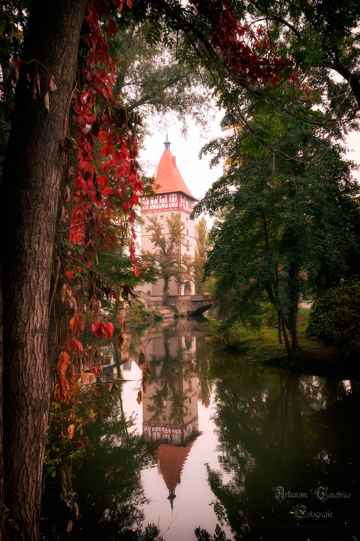 An Autumn Day at the River by ArkanumTenebrae
