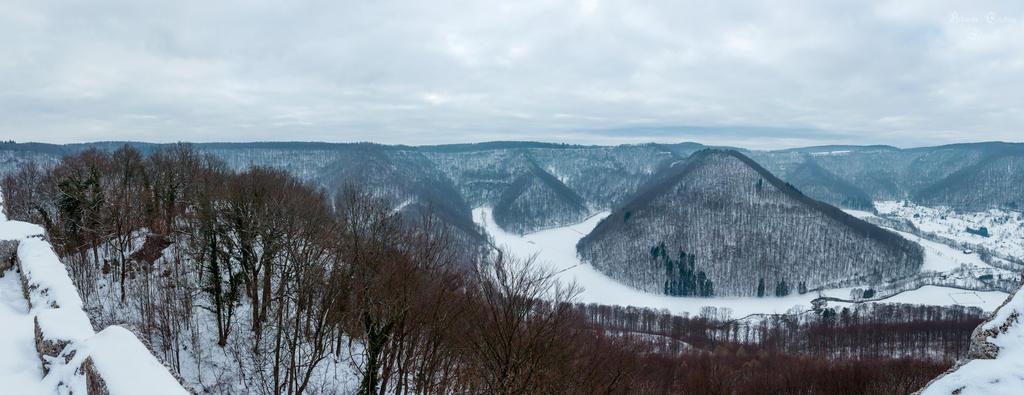 Panorama Hohenurach by ArkanumTenebrae