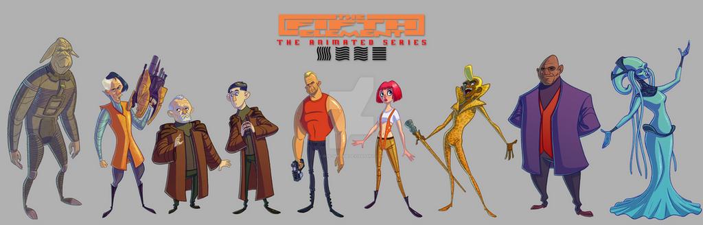 Fifth Element: The Animated Series by Gub-Gub-Gub