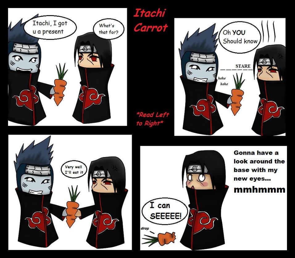 Itachi Carrot Comic Pg.1 by VietBBoyTobi