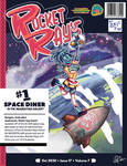 Rocket Ray's Diner Poster.