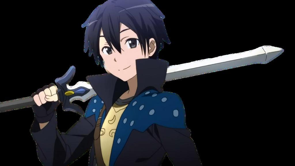 Image - Kirito sword art online render by silvia oz-d64l6eh.png ...
