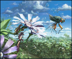 Salsa Invertebraxa - Dodging the Cicada by m0zch0ps