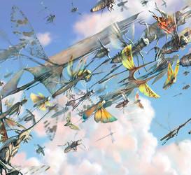 Salsa Invertebraxa - Swarm Detail