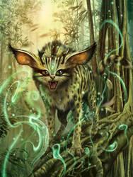 Servalis Dtam-Chur (SE Asian Treecat) by m0zch0ps