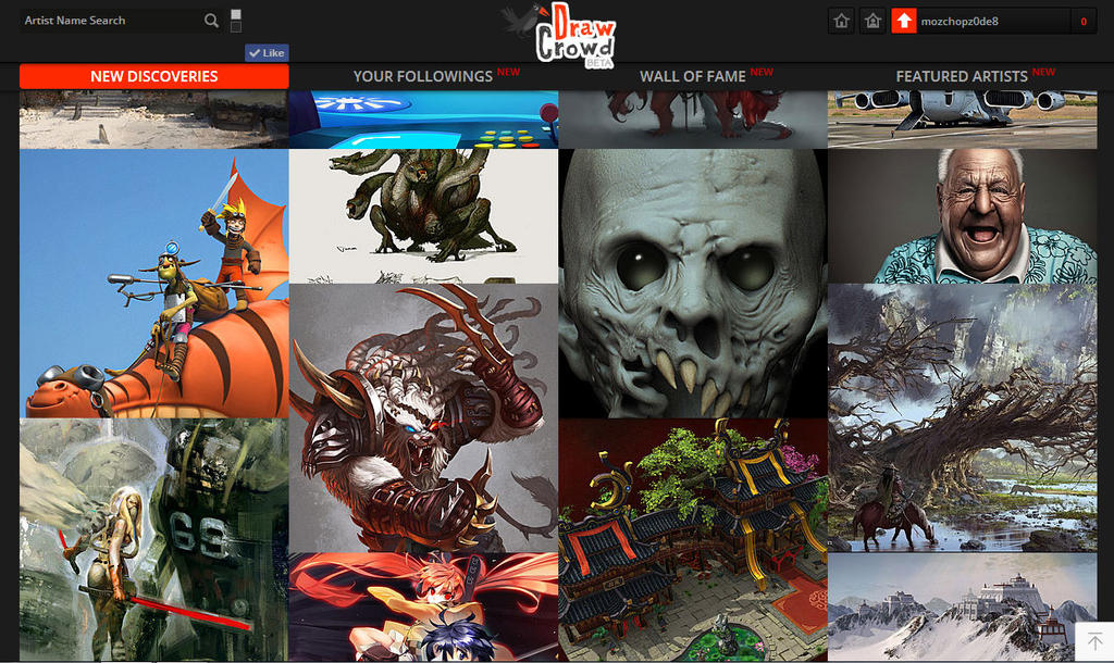 Drawcrowd-page by m0zch0ps