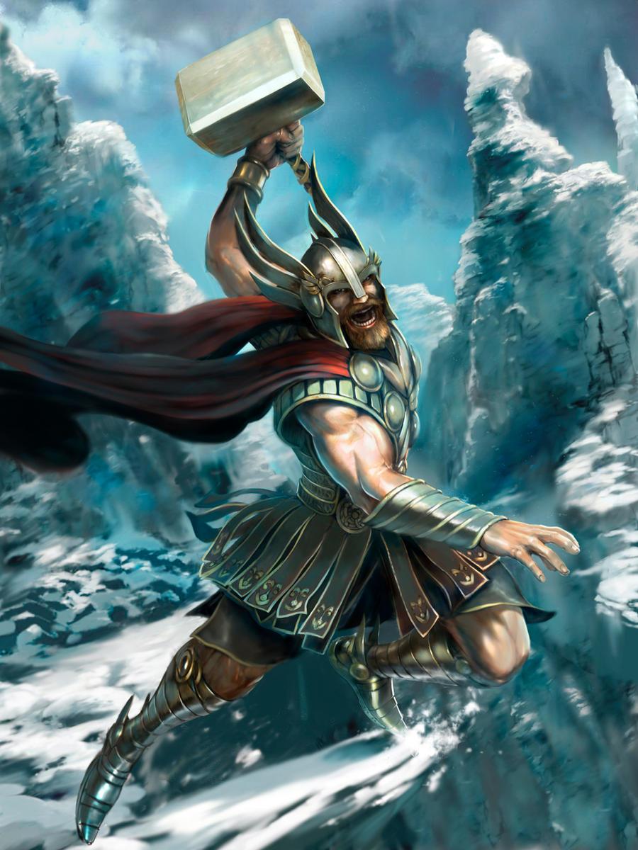ODIN - the Norse Ruler God Norse mythology