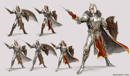 Armour Variations, Heroes Might + Magic by m0zch0ps