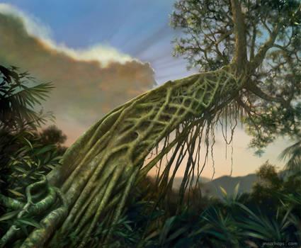The Tree Strangler (Strangler Fig) by Mozchops by m0zch0ps