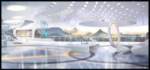 VR project concept scene