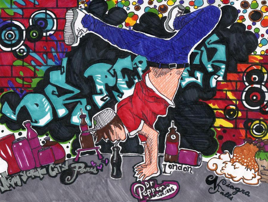 Dr Pepper BBOY In NYC By KzCherrifox