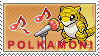 Polkamon Stamp by kalot3000