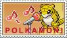 Polkamon Stamp by kalot3000