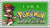Female Pokemon Ranger Stamp by kalot3000