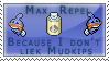 Max Repel Stamp by kalot3000
