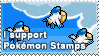 Pokemon Stamps Stamp by kalot3000