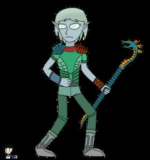 Fanart: Sea elf