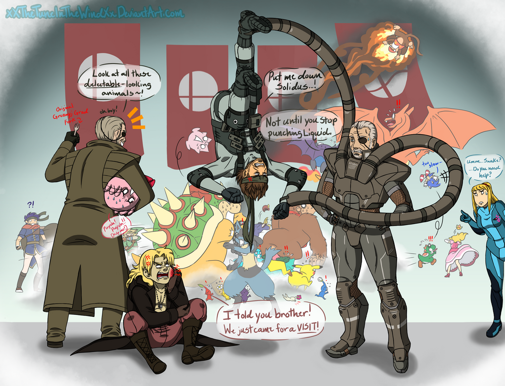 Brawl: The Snake Family Visit by xXTheTuneInTheWindXx