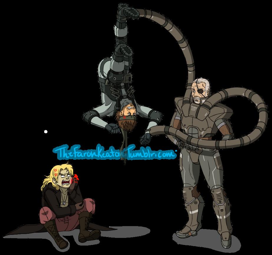 Les Enfants Terribles Metal Gear Solid