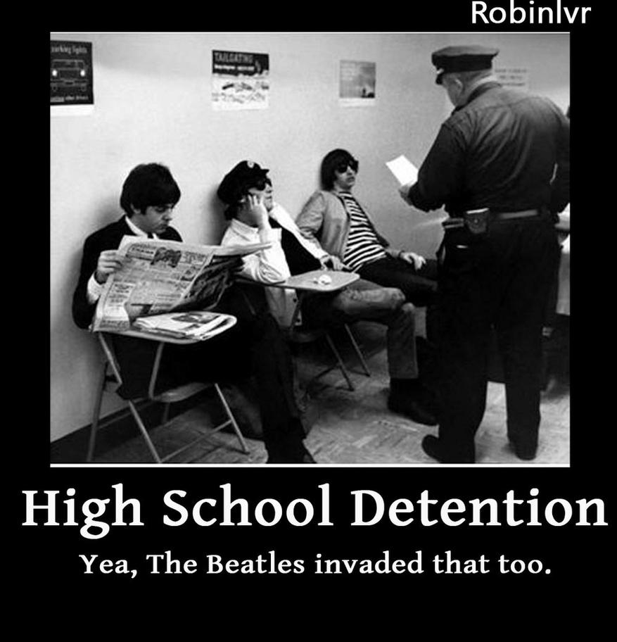Image Gallery of High School Detention