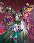 Monster Allergy Cover_Test by quivix