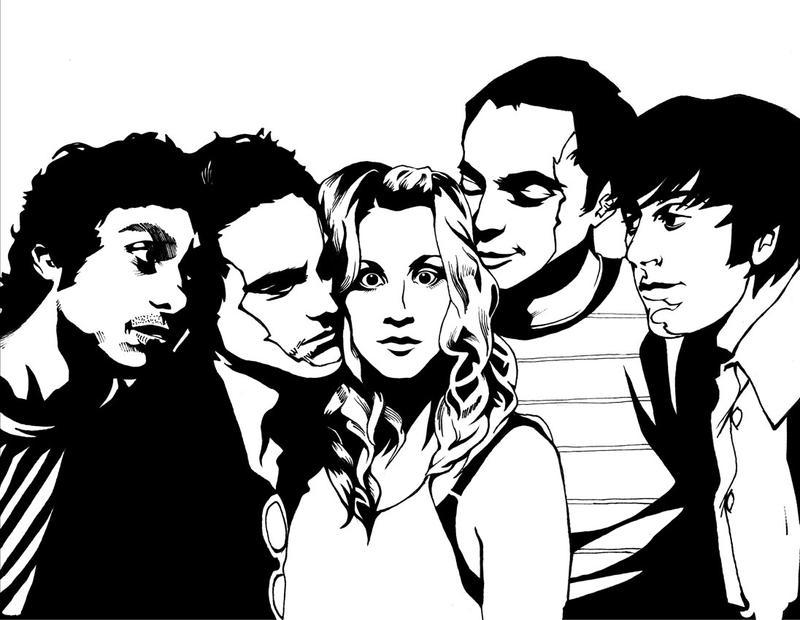 Big_Bang_Theory by quivix