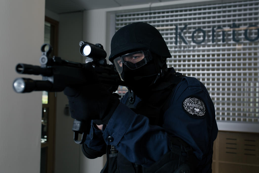 Rainbow Six 3: Raven Shield Cosplay 3 by JRL5