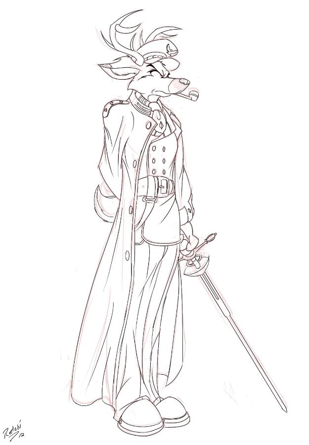 Sketch: Laurent by Retehi