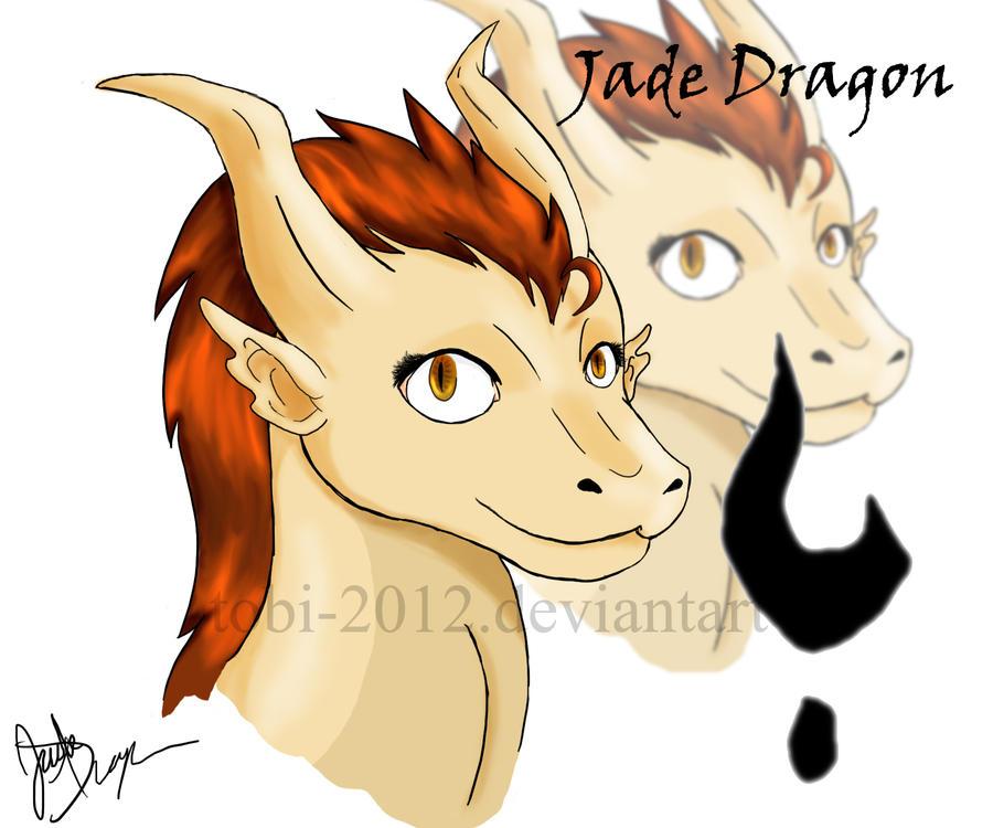 Jade Dragon OC by tobi-2012