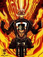 Ghost Rider Robbie Reyes by Eros-Ares
