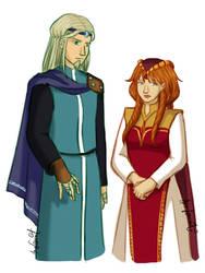 [WITCH] Zanden and Weira by OrangeCrazyRandom