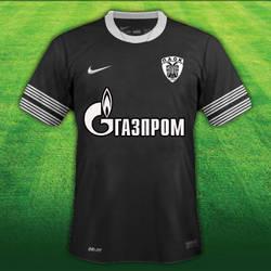 PAOK Shirt 2013-2014 Nike Gazprom by fanis2007