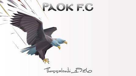 PAOK FC Eagle by fanis2007