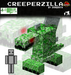 JurassiCraft: Creeperzilla