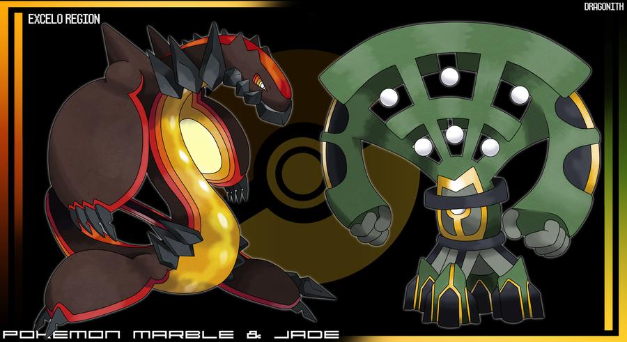 Excelo Region Legendaries By Dragonith On Deviantart