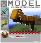 Minecraft - Pachycephalosaurus