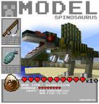 Minecraft - Spinosaurus