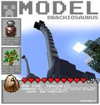 Minecraft - Brachiosaurus