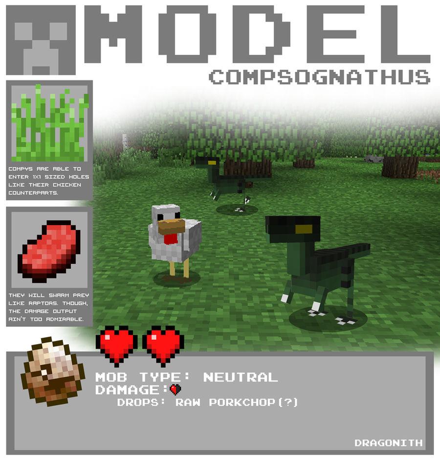 Minecraft - Compsognathus